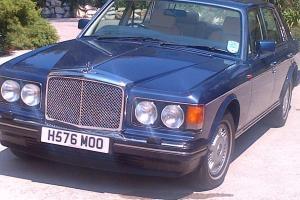 1992 Bentley Eight, Azure Blue, Low mileage