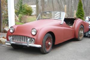 TRIUMPH TR3 1959  Photo