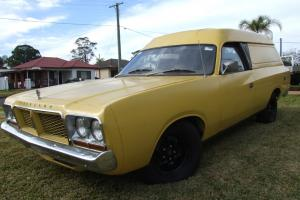 Chrysler Valiant CL Factory 318 V8 Sports Pack 4 Speed Manual Panel VAN Coupe