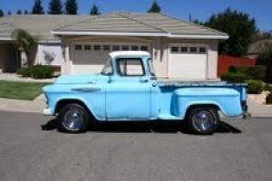 classic chevy truck v8 hotrod pickup 1/2 ton step side