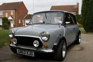1990 ROVER MINI RACG FLAME CHECKMATE GREY/BLACK