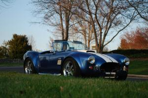 FACTORY FIVE (FFR) KIT 1965 COBRA, 347 EFI CRATE ENGINE MAKING AT 430HP
