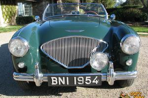 1954 Austin Healey 100 BN-1 Roadster A90 4cyl 3 Speed w/OD Heritage Trust USA Photo