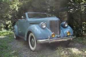 1938 Chrysler royal 2 door with rumble seat