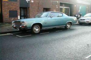 1971 Chrysler AMC AMBASSADOR RHD BROUGHAM COUPE - ONLY 14000 MILES