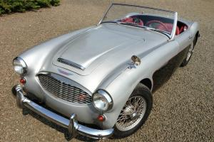1960 Austin Healey 3000 Mark 1 BN7 rare two-seater-Hear it roar! Video drive!