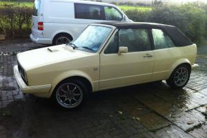 golf mk1 cabriolet, modified
