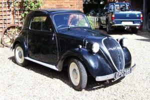 Classic Fiat Topolino 1938
