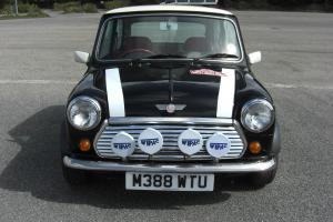 Rover Mini Cooper Monte Carlo Limited Edition, rare black finish