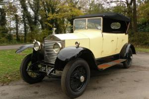 1925 Rolls Royce 20-25 Open Tourer by Barker Coachworks