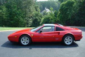 Ferrari 328 GTS Red Tan 1986 Targa US Spec Serviced Targa All Records Since New