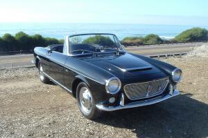"1960 Fiat 1200 ""Vetture Speciali"" Spider California Black Plate 19,000 Miles!"