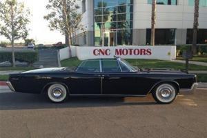 1967 Lincoln Continental Convertible /Black on Black / Original / Nixon