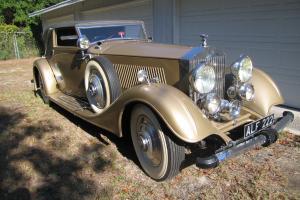 1933 Phantom ll  Barbra Hutton Prince Mdivani 144 inch WB LOTS OF DOCUMENTATION