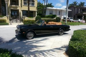 1988 Rolls-Royce Corniche II Clean Inside and Out.  A Real Find.