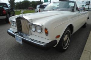 1978 Rolls Royce Corniche Convertible **22,434 ACTUAL MILES**