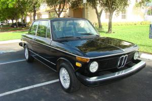 1974 BMW 2002 with Tii Engine, Color: Black, Alpina Seats