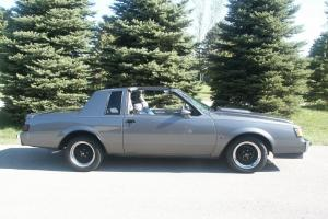 1987 BUICK REGAL T-TYPE COUPE 3.8L TURBO SAME AS GRAND NATIONAL