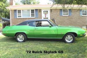 1972 Buick Skylark GS HARDTOP  RARE 4 SPEED 2-Door 5.7L