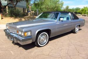 1979 Cadillac Coupe DeVille Phaeton - 12K Original Miles - All Original- MINT!!