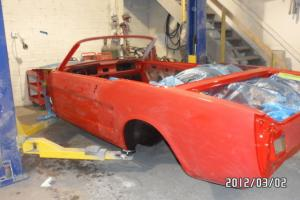 1965,66 FORD MUSTANG CONVERTIBLE,SHELBY,GT,CLONE,COMPLETE RESTORED BODY SHELL Photo
