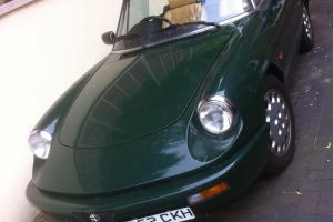 Ultra low mileage classic Alfa Romeo Spider S4 RHD, Not MG/TR/E type/MX2/Porsche