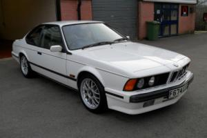 1989 F BMW 635 CSI HIGHLINE, WHITE, FABULOUS EXAMPLE, STUNNING CONDITION