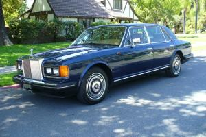 Gorgeous Rolls Royce Silver Spur Nice Rust Free Example  MUST SEE
