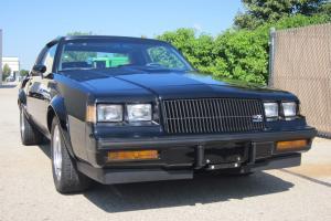 1987 BUICK GRAND NATIONAL GNX 3400 ORIGINAL MILES NUMBERED CAR