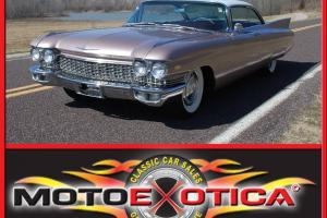 1960 CADILLAC SERIES 62, SAME OWNER FOR 22 YRS.CALIFORNIA CAR, P/S,P/B,MUST SEE!