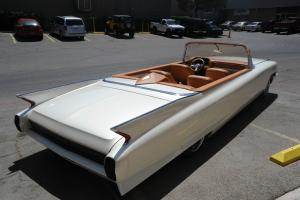 1962 Cadillac Limo Convertible Showcar - Bagged, Sounds, Bar - Great 4 Weddings