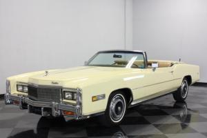 NICE DROP TOP CADDY, 500CI V8, LOADED WITH ORIGINAL OPTIONS, READY FOR SUMMER