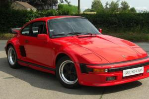 Porsche 911 930 SE Flat Nose - Guards Red