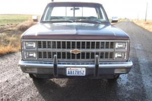 1982 Chevrolet 4x2 Short BOX Stepside Pickup