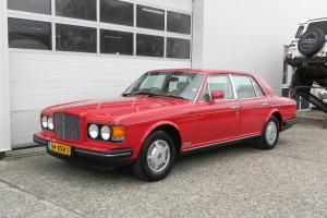 1986 BENTLEY Eight 6.75 V8 Automatic, RED, Cream Leather Interior, A/C