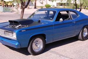 1971 PLYMOUTH DUSTER RARE H CODE 340 PRO STREET STRIP NHRA LEGAL**CLEAR TITLE