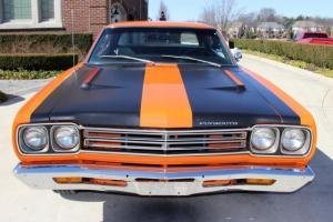 1969 Plymouth Road Runner 4 Speed Restored Numb Match