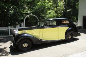 1948 ROLLS-ROYCE SILVER WRAITH TOURING LIMOUSINE RESTORED SUPERB CONDITION Photo