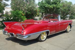 1958  Cadillac Eldorado  Barritz Convertable , Fresh  Ground up restoration