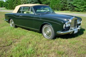 Rolls Royce Silver Shadow Convertible 1967 Photo
