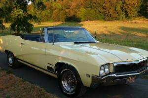"""1968 BUICK """"GS"""" 400 CONVERTIBLE MINT CONDITION no reserve"""
