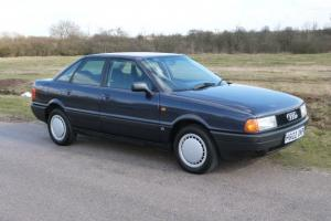 1990 AUDI 80 1.8 S AUTOMATIC, 1 OWNER AND JUST 24000 MILES