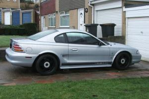 MUSTANG 1995 ON PRIVATE PLATE