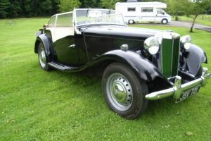 1950 MGTD in black