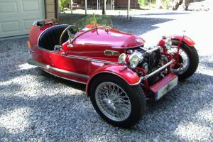3 WHEEL SUPER SPORT ROADSTER COLLECTABLE ANTIQUE AND RARE SHOW CAR