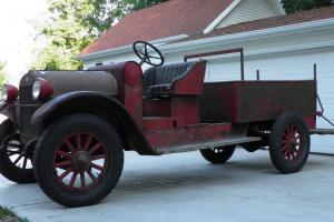 1923 REO Speedwagon Fire Truck. Barn Find. Original. Mechanically Restored.