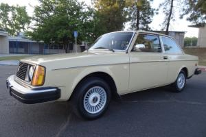1 OWNER 78 Volvo 242 DL 240 Coupe Classic Brick Youngtimer 242DL Diesel Wheels