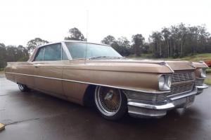 1964 Cadillac Coupe LOW Rider RAT ROD AIR Bagged Wire Wheels Classic Crusier