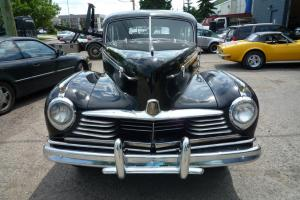 1946 Hudson Super Six sedan 4 door unique RARE ORIGINAL