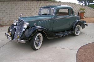 1934 Hudson Terraplane Coupe Photo